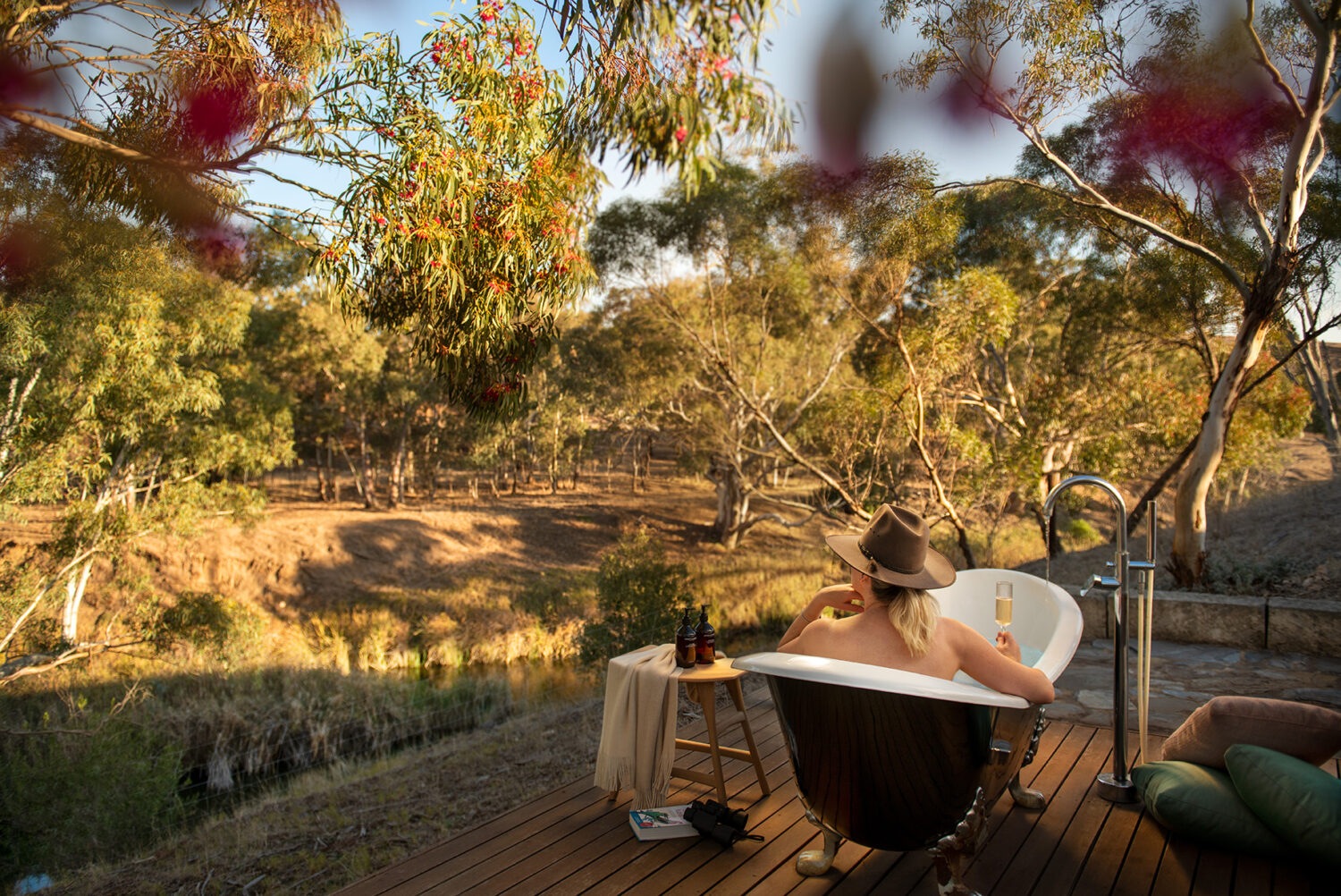 A property so private you can bathe outside